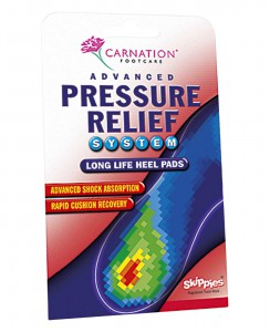 Carnation Advanced Pressure Relief Heel Pads
