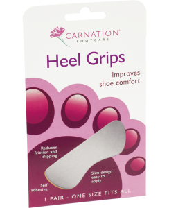Carnation Heel Grips CAR246Z